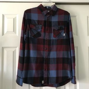 Vans Box Flannel Shirt NWOT